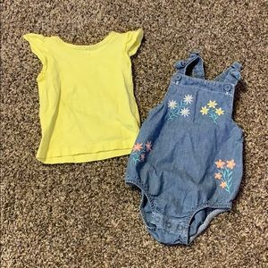 9 month baby girl outfit